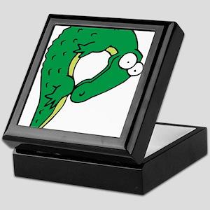 Alligator P Keepsake Box