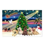 XmasMagic/ 5 Cairns Postcards (Package of 8)
