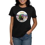 XMusic1-Cavalier (BT) Women's Dark T-Shirt