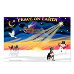 XmasSunrise/Chihuahua Postcards (Package of 8)