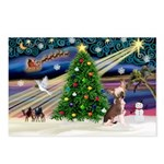XmasMagic/Crested (#1) Postcards (Package of 8)