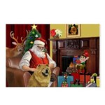 Santa's Chow Chow Postcards (Package of 8)