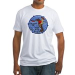 USS DASH Fitted T-Shirt