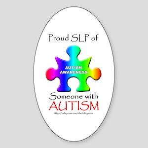 Proud SLP Oval Sticker