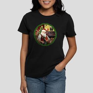 Santa's Dobie Women's Dark T-Shirt