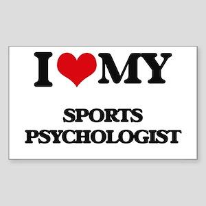 I love my Sports Psychologist Sticker