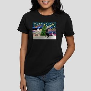 Xmas Magic & FCR Women's Dark T-Shirt