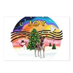 XMusic2-Fox Terrier (brwn-W) Postcards (Package of