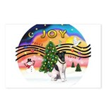 XMusic2-Fox Terrier (#1) Postcards (Package of 8)