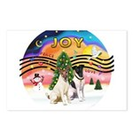 XMusic 2 - Two Fox Terriers (s) Postcards (Package