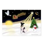 Night Flight/Fox Terrier Postcards (Package of 8)