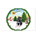 Take Off1/German Shepherd pup Postcards (Package o