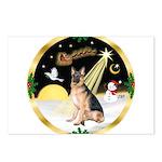 Night Flight/ German Shepherd Postcards (Package o