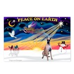 XmasSunrise/Great Dane Postcards (Package of 8)