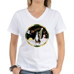Night Flight/GSMD Women's V-Neck T-Shirt
