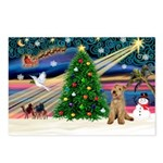 XmasMagic/Lakeland Ter Postcards (Package of 8)