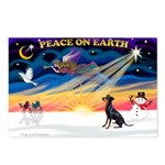 XmasSunrise/Manchester Postcards (Package of 8)