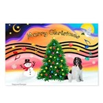 XmasMusic 2MC/Newfie Postcards (Package of 8)