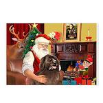 Santa's Newfoundland Postcards (Package of 8)