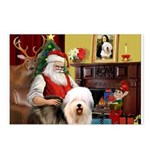 Santa's Old English #5 Postcards (Package of 8)
