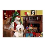 Santa's Old English #6 Postcards (Package of 8)