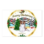 XmasMusic1MCL/Papillon Postcards (Package of 8)