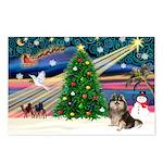 XmasMagic/Pom (prti) Postcards (Package of 8)
