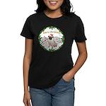 XmasMusic1MC/Pug 11 Women's Dark T-Shirt