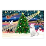 Xmas Magic & Samo Postcards (Package of 8)