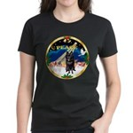 XmasSunrise/Schipperke Women's Dark T-Shirt
