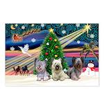 Xmas Magic & Skye Trio Postcards (Package of 8)