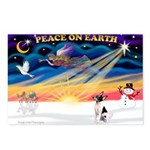 XmasSunrise/Toy Fox T Postcards (Package of 8)