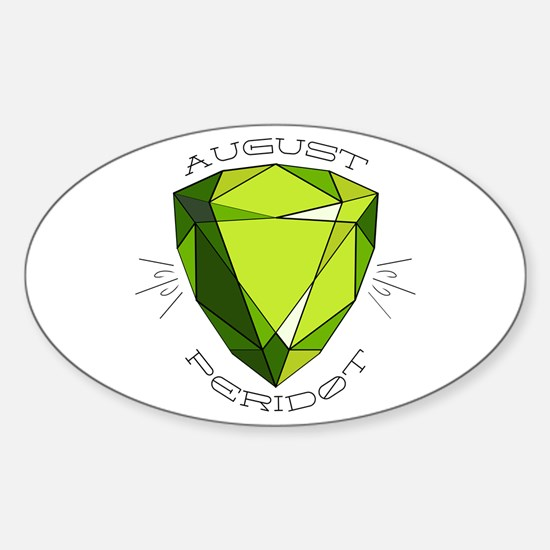 August Peridot Decal