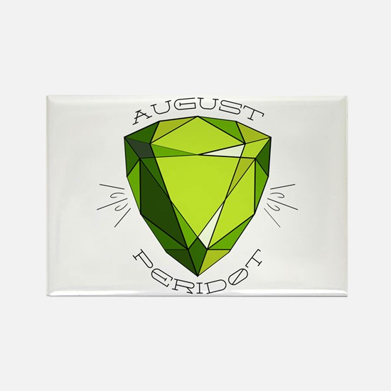 August Peridot Magnets
