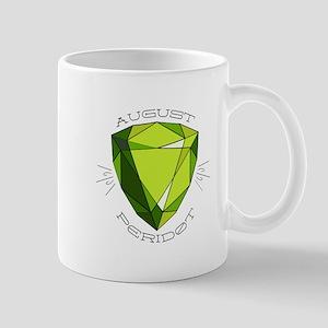August Peridot Mugs