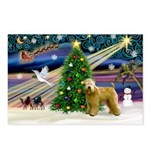 XmasMagic/Wheaten (#2) Postcards (Package of 8)