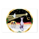 Wisemen/Whippet #8 Postcards (Package of 8)