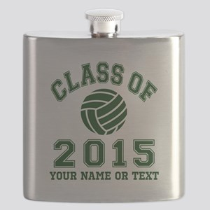 Class Of 2015 Volleyball Flask
