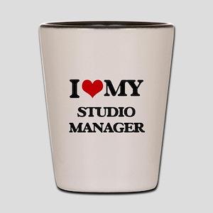 I love my Studio Manager Shot Glass