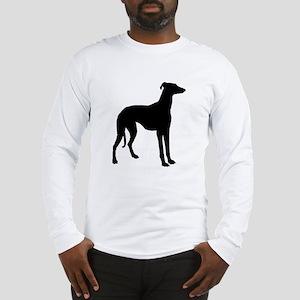 Greyhound Silhouette Long Sleeve T-Shirt