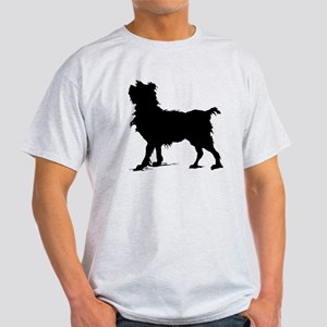 Scruffy Dog Silhouette T-Shirt