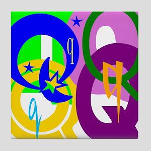 Initial Design (Q) Tile Coaster