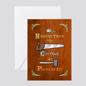 Pound to Fit Greeting Card