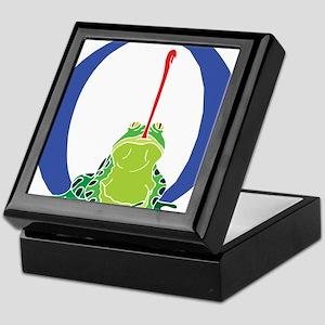 Blue Frog O Keepsake Box