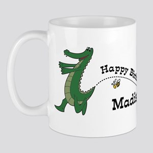 Happy Birthday Madisyn (gator Mug