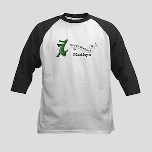 Happy Birthday Madisyn (gator Kids Baseball Jersey
