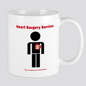 Heart Surgery Surviver Mug