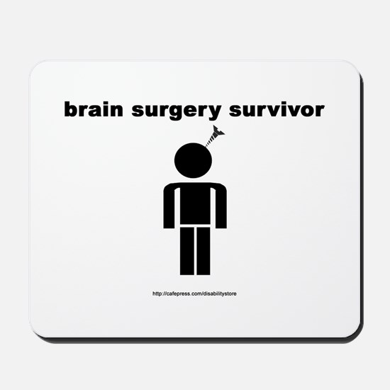 Brain Surgery Survivor Mousepad