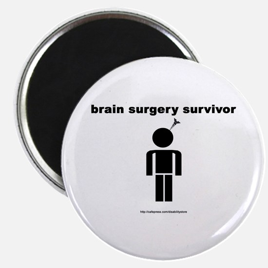 Brain Surgery Survivor Magnet