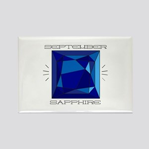 September Sapphire Magnets